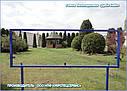 """Велопарковка  """"Дабл-Байк - 7"""" на 7 веломест с рекламной рамкой, фото 6"""