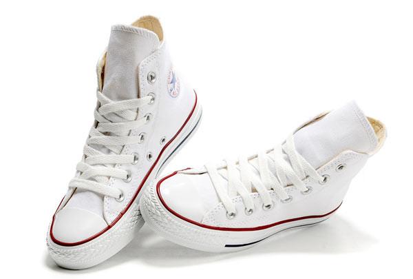 Кеды Converse All Star белые - интернет-магазин