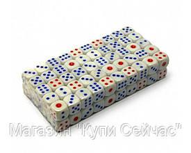 Кости игральные 100шт (упаковка) 1.5см №16Н