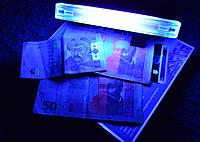 Детектор валют денег доллары гривны евро DL-01 ультрафиолетовый