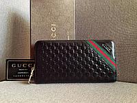 Женский кошелек Gucci (138028) черный цвет