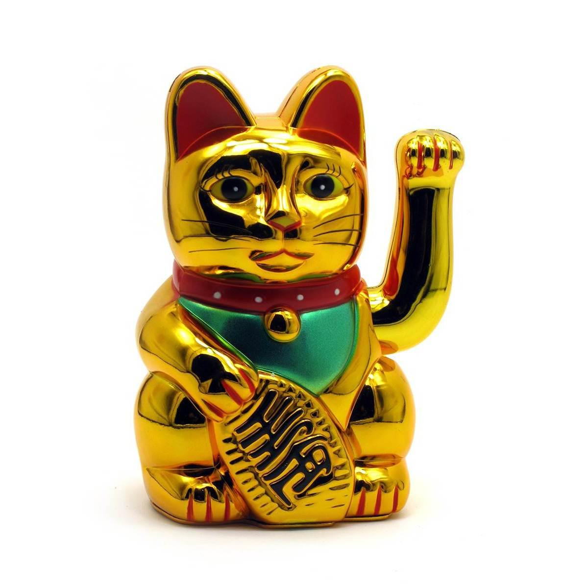Статуетка Кішка Манэки-неко