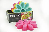 """Форма силиконовая для выпекания """"Ромашка"""" 27 x 5 см Fissman  (PR-6700.BW)"""