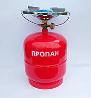"""Газовая горелка """"Intertool"""" 8 л. (Портативная,для туризма)."""