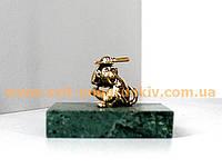 Бронзовая статуэтка Обезьянка оригинальный сувенир