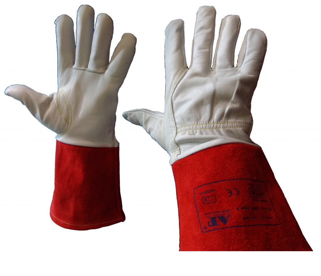 Перчатки для аргонодуговой сварки TIG сварка