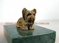 Сувенир бронзовая собака Терьер