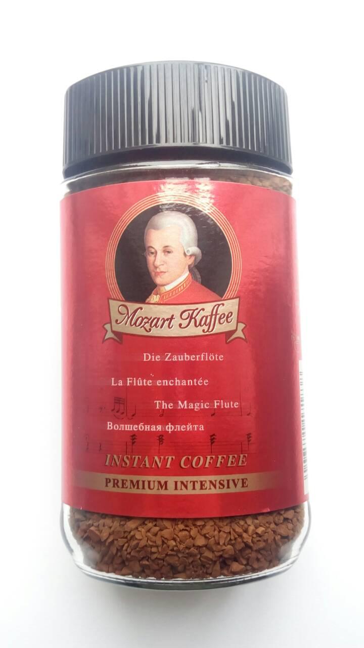 Растворимый кофе Mozart Kaffee Premium Intensive 100 грамм