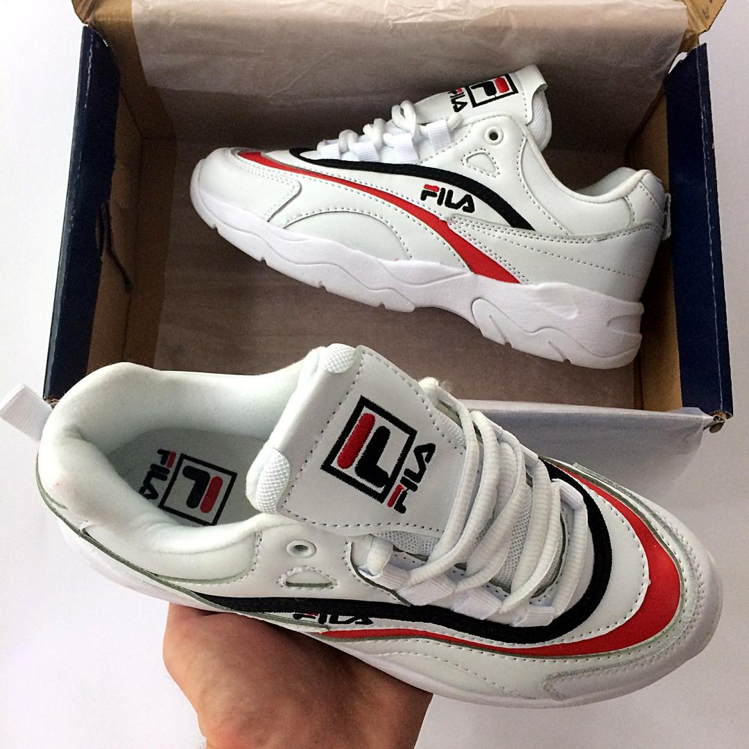 587d7168e5af Женские кроссовки Fila Ray белые ( реплика), цена 1 200 грн., купить ...