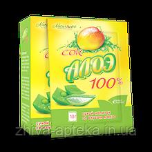 Сок Алоэ Вера -  100% сок Алоэ Вера со вкусом манго