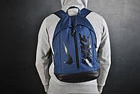 Спортивный городской рюкзак Nikе  меланж Найк с кожаным дном