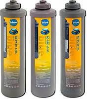Комплект картриджей Bluefilters AC-PS-10-20-NL, AC-GAC-10-NL, AC-PS-10-5-NL