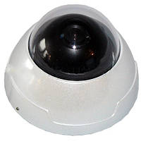 Камера видеонаблюдения купольная 429 kd, сверхчувствительная матрица, 3d крепление, антивандальный корпус