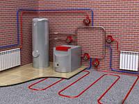 Установка котлов, монтаж систем отопления