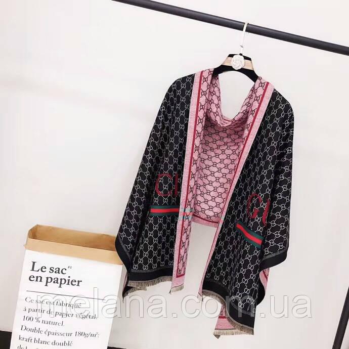 524f217b8948 Теплый палантин шарф в стиле Gucci (Гучи) модная новинка. 490 грн. Купить.  Перезвоните мне