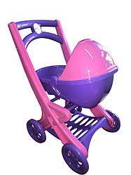 Коляска для куклы Фиолетово-розовая (rv0056115)