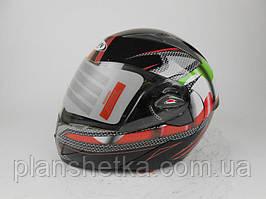 Шлем для мотоцыкла HF-118 трансформер Италия + очки