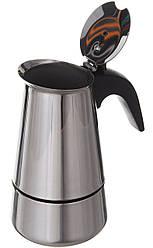 Гейзерная кофеварка A-PLUS CM-2087 на 4 чашки (45191)