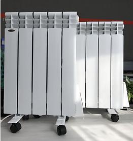 Електричний радіатор Flyme Elite 5 секцій / 650 Вт