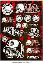 Наклейка Metal Mulisha