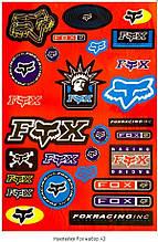 Наклейка FOX