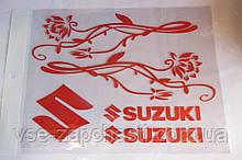 Наклейка Suzuki A4
