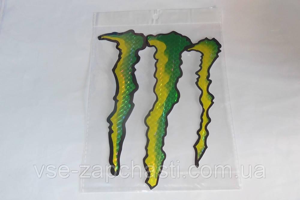 Наклейка Monster A4