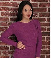 Женский свитер  их акриловой нити по привлекательной цене, фото 1