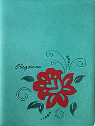 Ежедневник А5 из кожезаменителя недатированный Flower