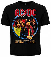 "Футболка AC/DC ""Highway To Hell"", Размер L"