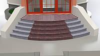 Лестница из Токовского гранита -  радиусная , фото 1