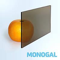 Монолитный поликарбонат Monogal, бронза 40%, 4 мм