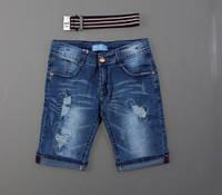 Джинсовые шорты для мальчиков Nice Wear оптом, 134-164 pp. {есть:140,146}