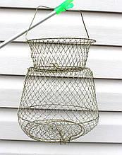Садок рыболовный металлический 25см