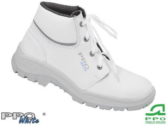 Рабочие ботинки унисекс белые BPPOT205 WHI, фото 2