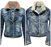 53e3535f024 Джинсовая женская куртка с мехом в Украине. Сравнить цены