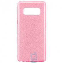 Чехол силиконовый Shine Samsung Note 8 N950 розовый