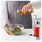 Набор емкостей для масла IKEA ÖRTFYLLD 3 шт стекло нержавеющая сталь 403.913.51, фото 2