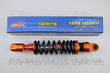 Амортизатор усиленный Yamaha JOG 250 мм NDT оранжево-черный