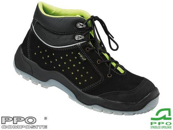Ботинки рабочие с металлическим подноском и защитой от проколов BPPOT683, фото 2