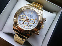 Наручные часы Rolex Daytona Gold White 2013
