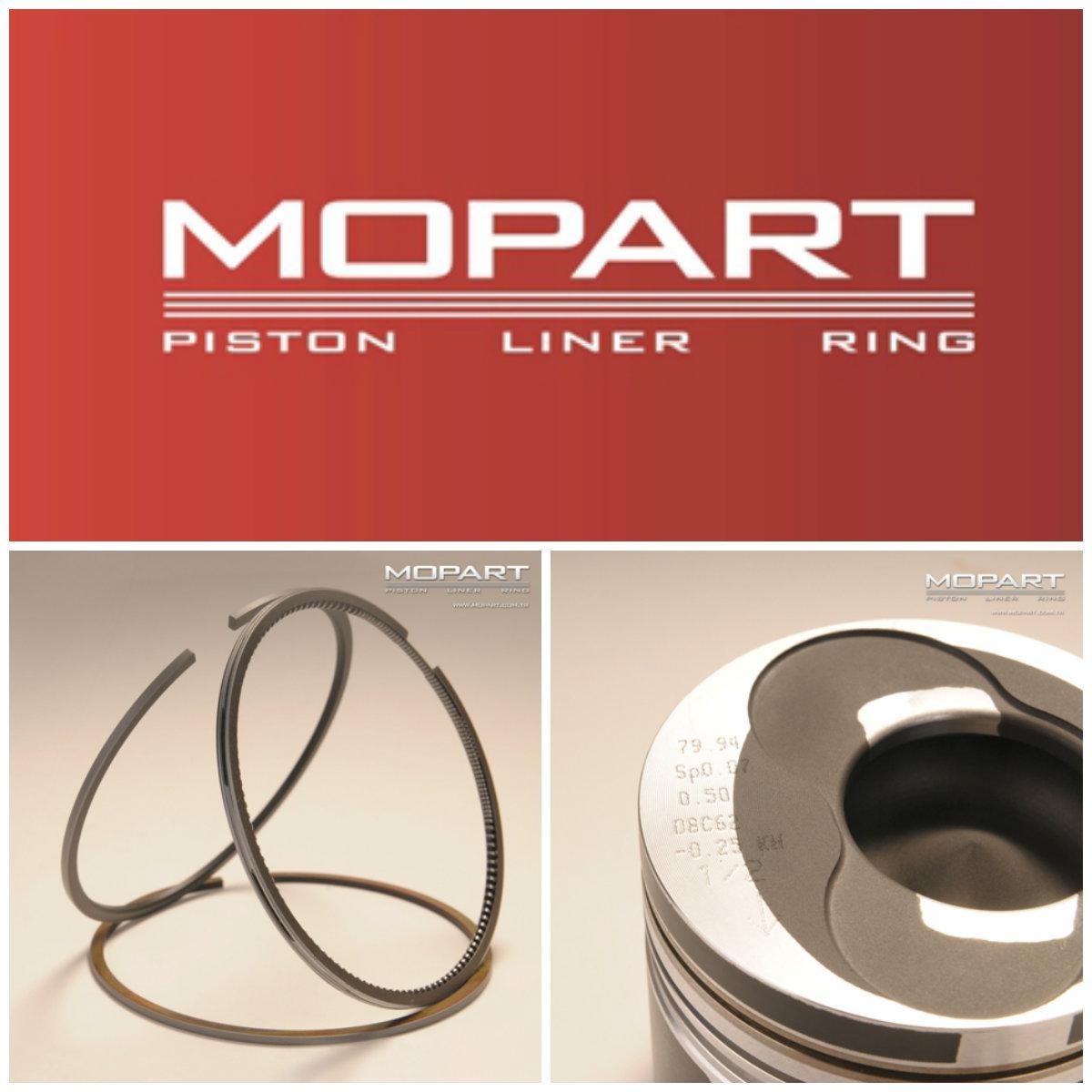 Кольца поршневые PSA 83.50 XUD9 1.9D (Mopart) 02-4707-050