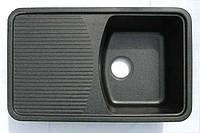 Гранитная мойка 760 мм 500 мм 190 мм