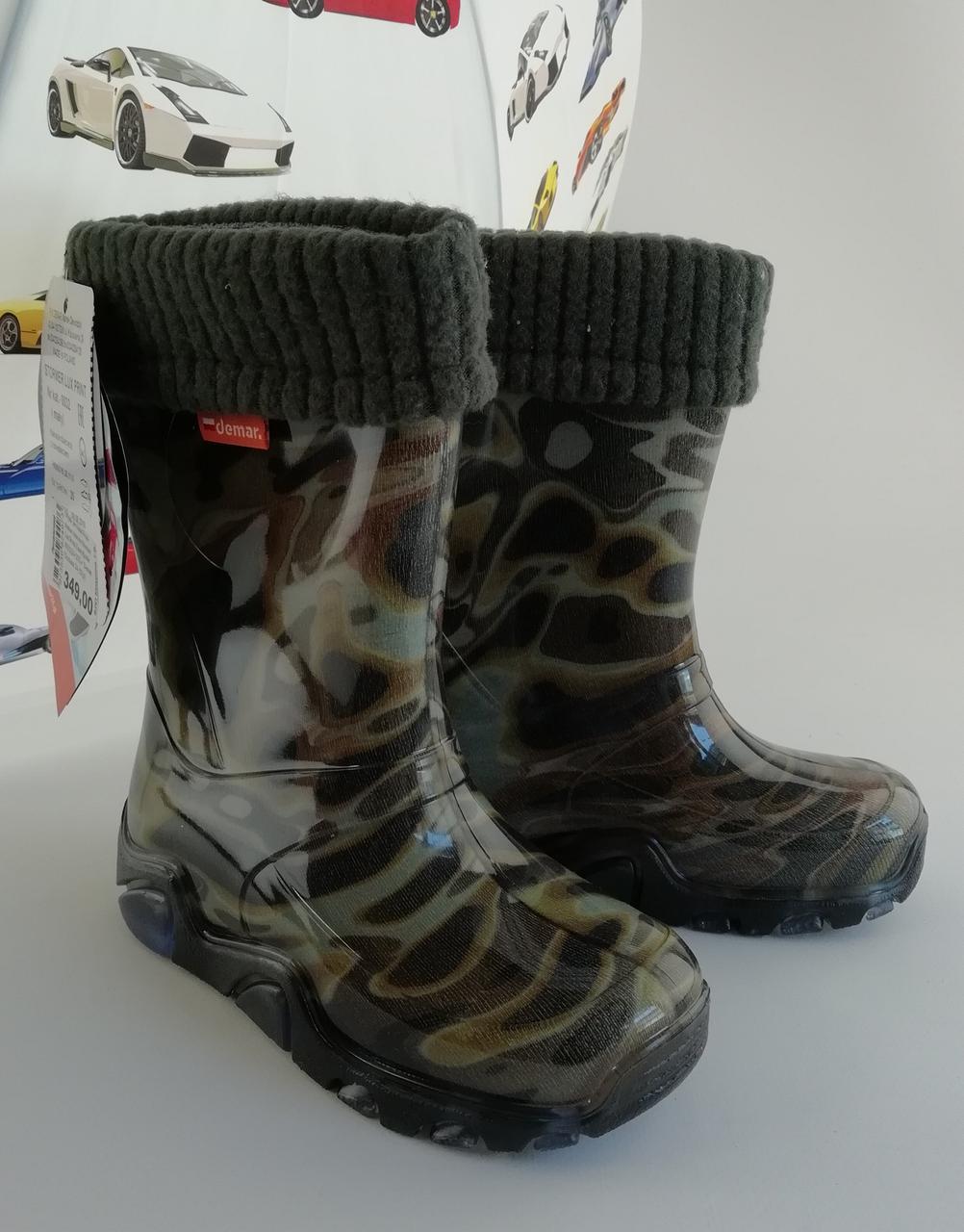 Гумові чоботи Stormer Lux Print Камуфляж Demar Польща
