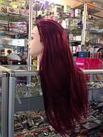 Учебная голова вишневый цвет