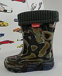 Гумові чоботи Stormer Lux Print Камуфляж Demar Польща, фото 2