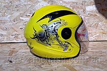 Шлем открытый BLD №-218 Bailide желтый