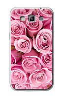 Чехол для Samsung Galaxy Win i8552 (букет розовых роз)