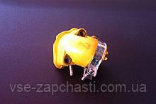 Патрубок карбюратора Viper Matrix/GY-150 силикон LIPAI желтый