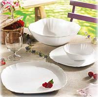 Столовый сервиз Luminarc Lotusia White на 6 персон 19 предметов